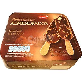 Aliada Minibombón helado almendrado estuche 400 ml 8 unidades