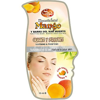 Sys Mascarilla facial mango y barro del mar Muerto envase 15 ml calmante & purificante Envase 15 ml
