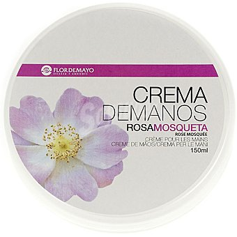 Flor de Mayo Crema de manos rosa mosqueta Tarro de 150 ml