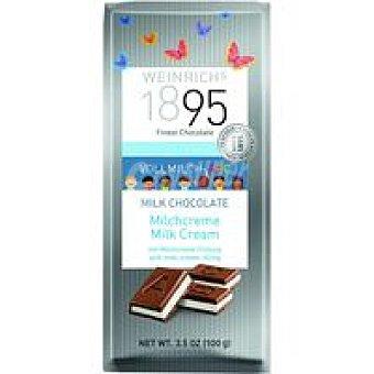 1895 Chocolate con leche extrafino abc relleno crema leche 100 g
