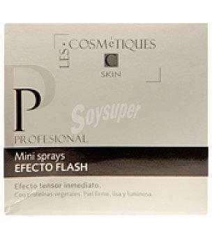 Les Cosmetiques Mini spray efecto Flash inmediato Pack de 3 unidades de 1,5 ml