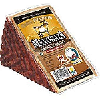 Maxorata Queso de cabra semicurado con pimentón D.O. Majorero cuña 370 g