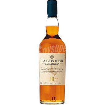 TALISKER whisky escocés de malta 10 años  botella 70 cl