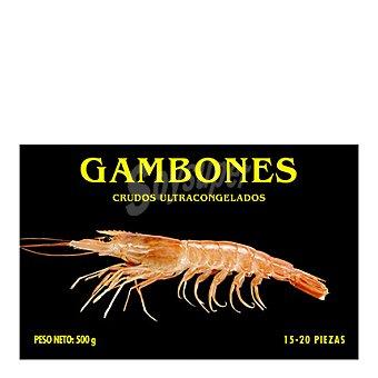 Pescatrade Gambones crudos ultracongelados 500 g
