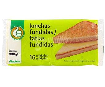 Productos Económicos Alcampo Queso Fundido en Lonchas 16 Unidades (300 g)