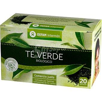 INTERMON OXFAM Té verde biológico Comercio Justo envase de 70 g