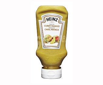 Heinz Salsa Curry Con Mango Top Down 270 Gramos
