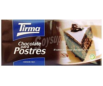 Tirma Chocolate para postres 150 gramos
