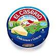 Queso Fundido en Porciones (quesitos) Envase 125 g (8 uds) El Caserío