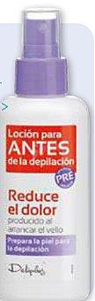 Deliplus Locion pre depilacion Botella 100 cc