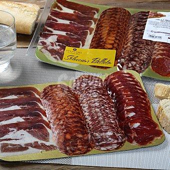 Abrilisto Tabla 4 embutidos ibericos bellota Bandeja de 150 g