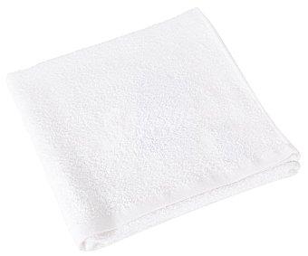 Productos Económicos Alcampo Toalla de lavabo blanca 100% algodón, 300g/m² de densidad, 50x90cm alcampo