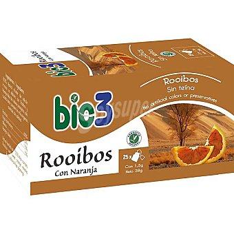 BIE 3 Rooibos sin teína rico en antioxidantes Envase 25 unidades