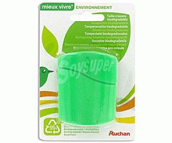 Auchan Sacapuntas Biodegradable Doble Uso 1 Unidad