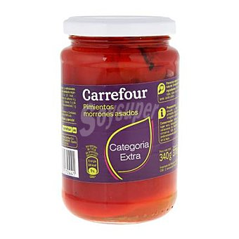Carrefour Pimiento morrón entero asado 220 G 220 g