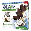 Mini bombón helado sabor coco pack de 4 unidads de 50 G Pack 4 x 50 g Valsoia