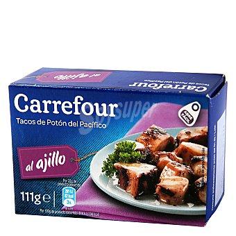 Carrefour Tacos de pota al ajillo 65 g