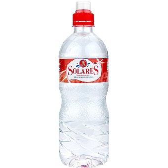 Solares Agua mineral con tapón sport Botella 75 cl