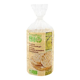 Carrefour Bio Tortas de arroz con sal 100 g