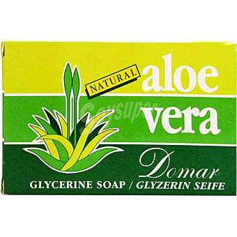 Domar Pastilla de jabon de glicerina natural con aloe vera Pastilla 50 g