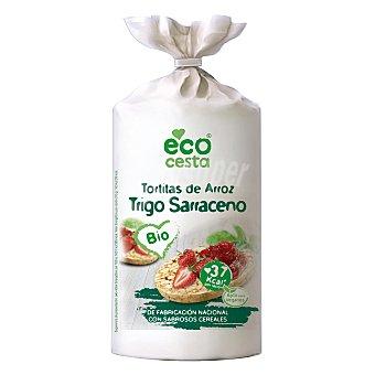 Ecocesta Tortitas de arroz y trigo sarraceno ecológicas 100 G 100 g
