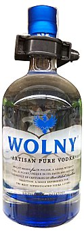 Wolny Vodka premium Botella de 700 cc