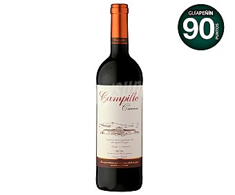 Campillo Vino tinto con denominación de origen Rioja Crianza Botella de 75 centilitros
