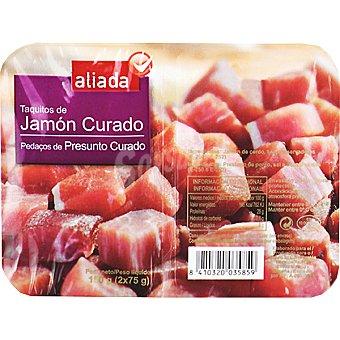 Aliada Taquitos de jamón curado Envase 150 g