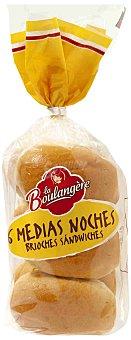 La Boulangere Medias Noches La Boulangère 6 Uds 270 gr