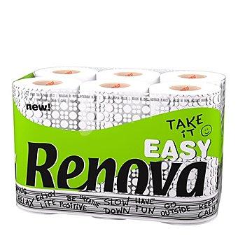 Renova Papel higiénico Take It Easy 12 rollos