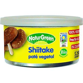 Naturgreen Paté vegetal de shiitake ecológico Tarrina 125 g