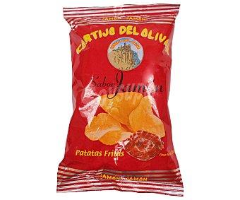 CORTIJO DEL OLIVAR Patatas fritas sabor jamón 110 Gramos