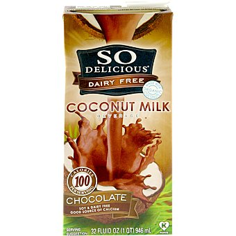 SO DELICIOUS Leche de coco con chocolate Envase 1 l