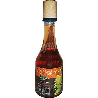 El Corte Inglés Vinagre de vino a las finas hierbas botella 250 ml 250 ml
