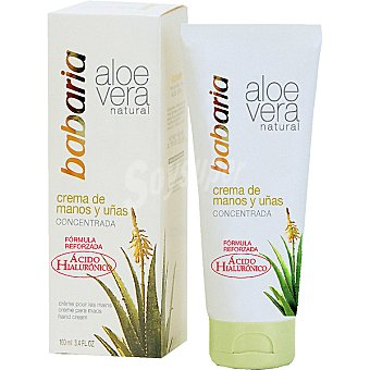Babaria Aloe vera crema de manos y uñas Bote 100 ml