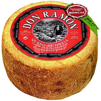 Don Ramon Queso elaborado con leche cruda de oveja D.O. Roncal  3 kg (peso aproximado pieza)