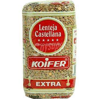 Koifer Lenteja castellana 5 estrellas Paquete 500 g