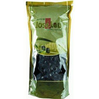 HIJOS de LOU Aceitunas negras con hueso Bolsa 300 g