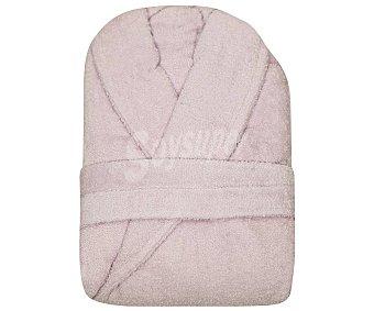 Actuel Albornoz adulto talla S 100% algodón color rosa claro, /m², actuel 380 g