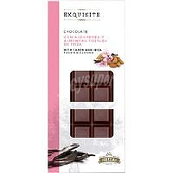 F. S. IBIZA. Chocolate de algarroba-alm. exquisite Tableta 100 g