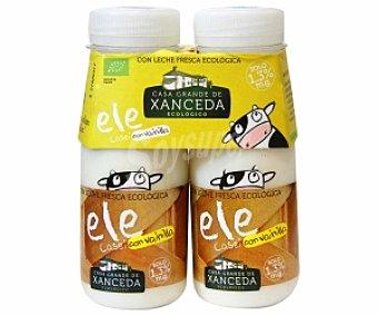 Xanceda Yogur Líquido Lcasei Sabor Vainilla Ecológico 2 Unidades de 165 Gramos