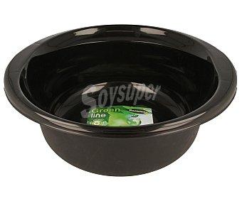 GREEN LINE Barreño redondo (material reciclado) de color negro, capacidad 8 litros 1 unidad