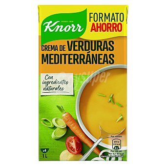 Knorr Crema de verduras mediterraneas 1 l