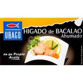 Ubago Hígado de bacalao Lata 125 g