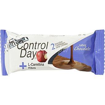 NUTRISPORT Barritas sustitutivas y quemagrasas con L Carnitina sabor chocolate 2 unidades 44 gr