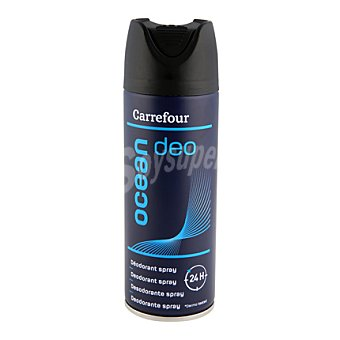 Carrefour Desodorante Ocean 24h spray para hombre 200 ml