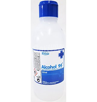 Alcohol kelsia 96º 250 ml 250 ml