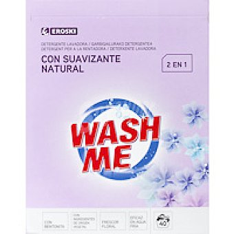 Eroski Detergente 2en1 en polvo Maleta 40 cacitos