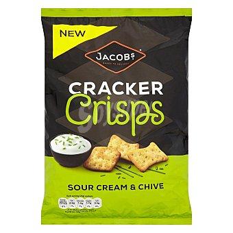 Jacob's Crackers crema agria y cebollino Jacobs 150 g