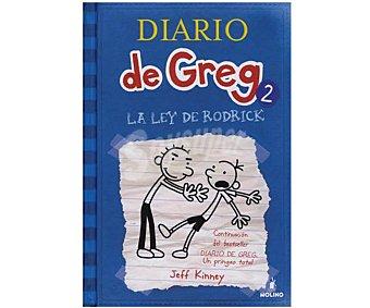 Molino Diario de Greg 2: La Ley de Rodrick, jeff kinney, Género: Infantil, Editorial: Molino